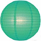 Lanterne di carta verde