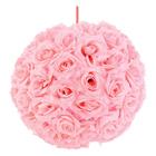 Lanterne di tessuto con fiori di rosa