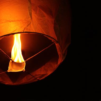 Lanterne volanti compleanno