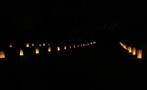 lanterne portacandele sacchetti di carta