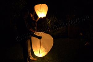Volo Lanterne Volanti