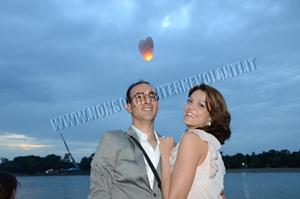lanterne volanti matrimonio nuziale sposi